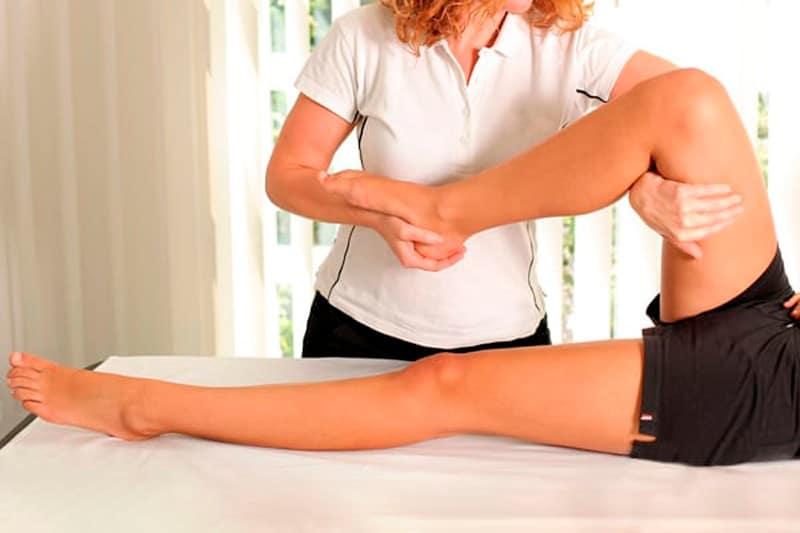 masajes después del entrenamiento